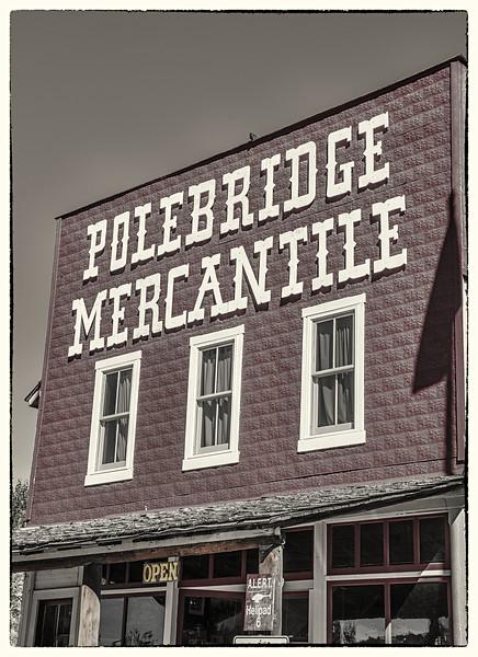 Polebridge Mercantile Store  -  Polebridge, Flathead Co., MT
