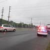413 closing right lane for LIPA servicing  poles