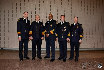 Canton Fire Promotion Ceremony Jan 11th 2015
