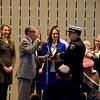 Canton Fire Promotion Ceremony Jan 11th 2016<br /> Chief Tom Garra, Battalion Chief Daniel Reed, Captain Michael Evans