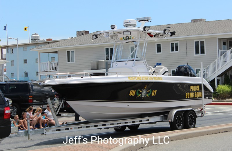 Maryland State Fire Marshal Police Bomb Squad Boat
