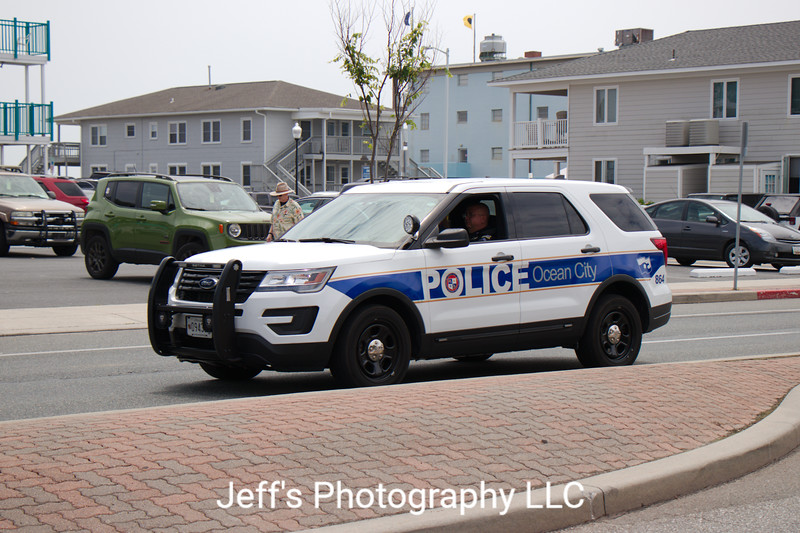 Ocean City, MD Police Department SUV #864