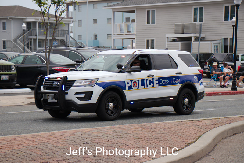Ocean City, MD Police Department SUV #874