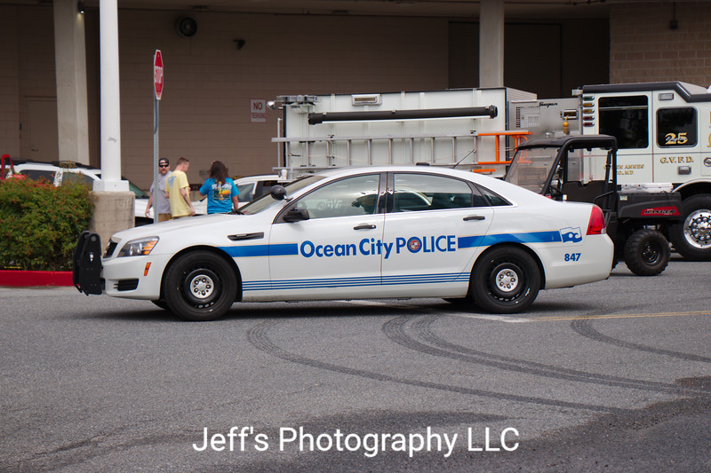 Ocean City, MD Police Department Cruiser #847