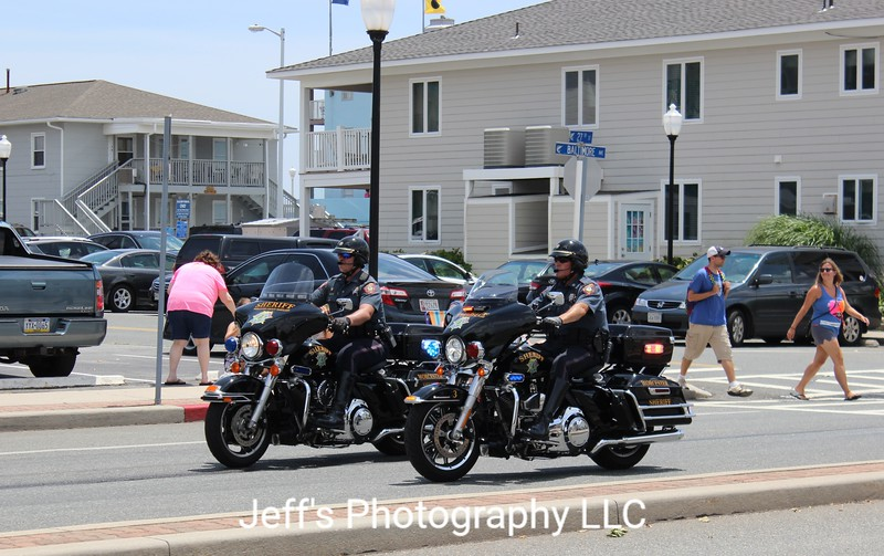 Worcester County Sheriff, Snow Hill, MD Motorcycles