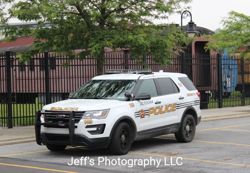 Altoona, PA Police Department SUV #109