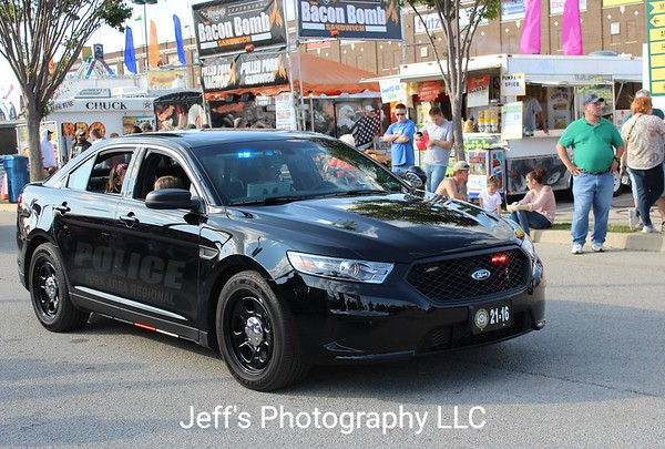 York Area Regional Police Department, York, PA, Cruiser #21-6