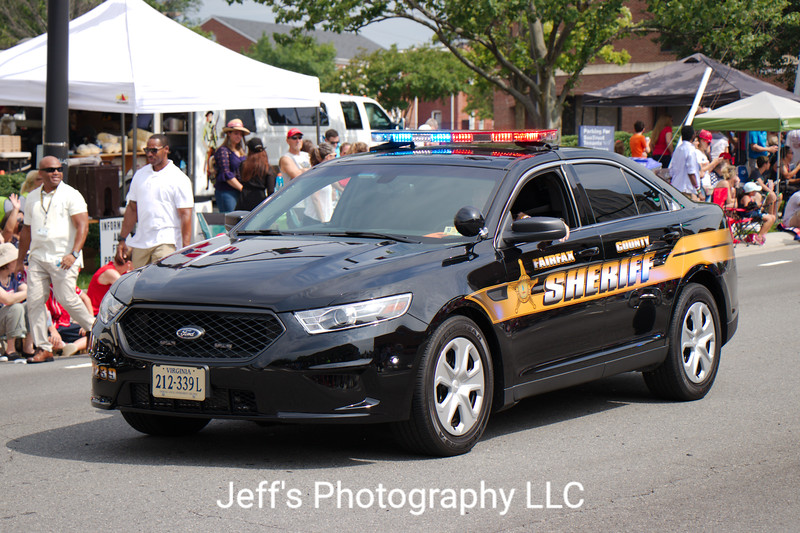 Fairfax County Sheriff, Fairfax, VA, Cruiser #239
