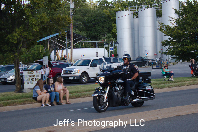Front Royal, VA Police Department Motorcycle