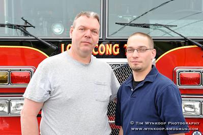 Pete Kopecky Sr. and Jr.