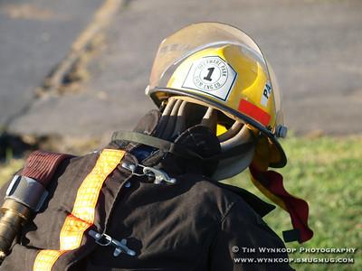 Lopatcong Township Fire Company #2, Pre-Wetdown Skirmish.
