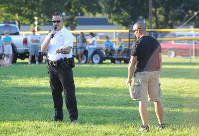 8/18/2012, Palmer Township, PA: Palmer Township, Wilson Borough and Easton police perform a K-9 demo at Palmer Community Days.