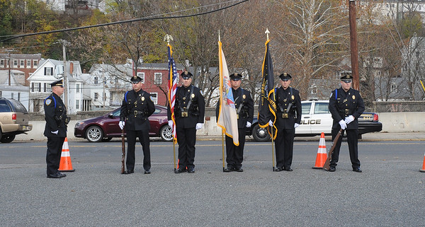 "The Phillipsburg Police Department held a remembrance ceremony honoring fallen officer, Kenneth W. ""Red"" Vandegrift who died in the line of duty Nov. 20, 1930. The ceremony was at the bridge on South Main Street that bears his name."