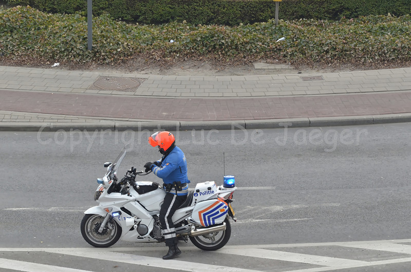 The Yamaha FJR 1300 A motorcycle of the federal police of Belgium.