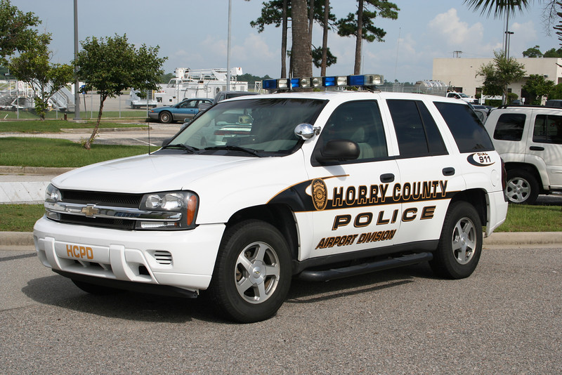 HCPD Airport Division - Chevy SUV
