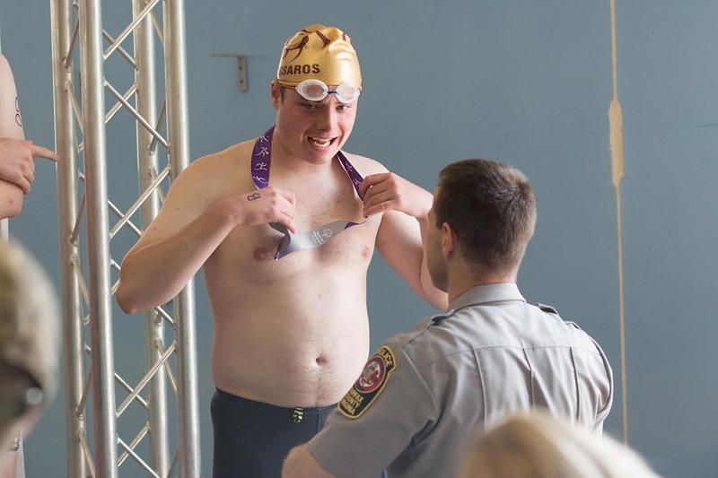 Police Volunteers, SOVA Summer Games 2018,  Swimming