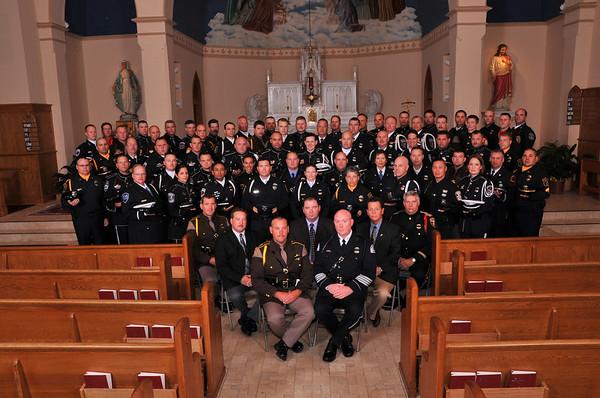 D.F.L Honor Guard Training - Wyandotte 2009