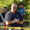 Lowell police were involved in a death investigation on Queen Street on Monday afternoon. AARON CURTIS/LOWELL SUN