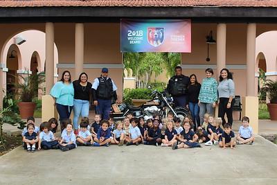 Police visit PPK • Community Helpers