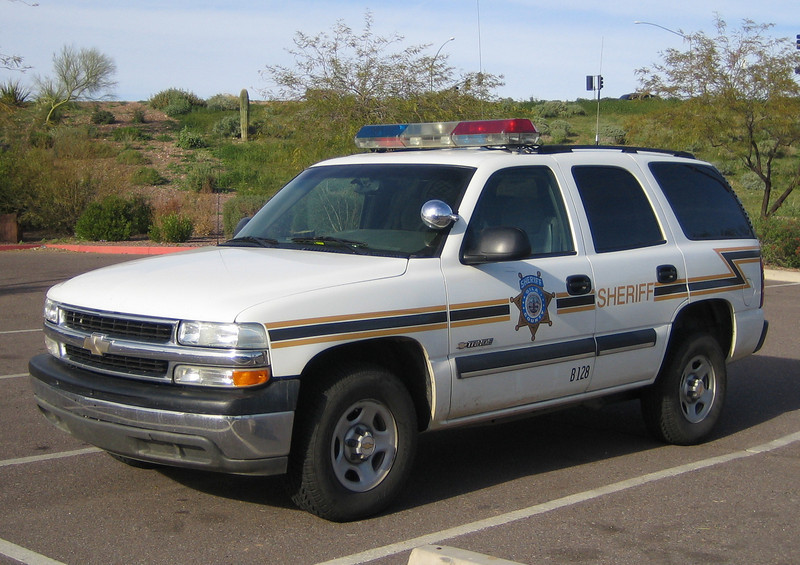 Gila County, AZ Sheriff Chevy Tahoe B128