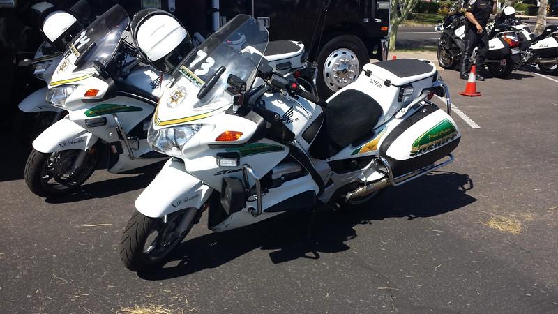 Pinal County, AZ Sheriff Honda