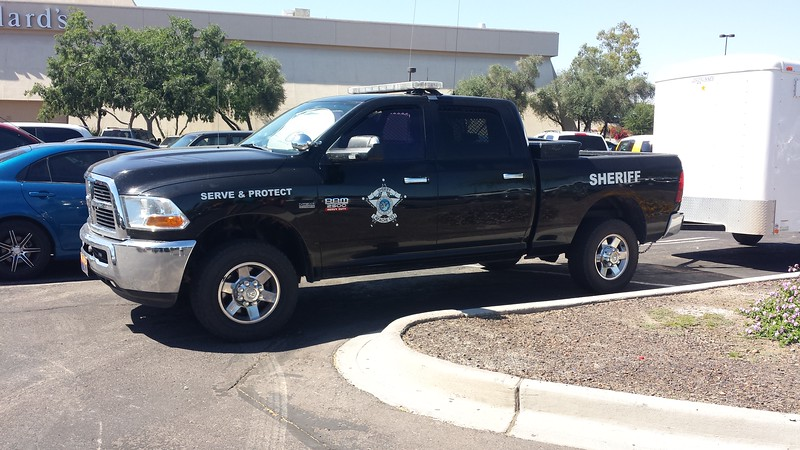 Apache County, AZ Sheriff Dodge Ram 2500