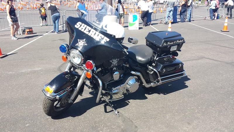 Apache County, AZ Sheriff Harley Davidson