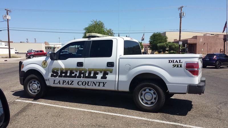 La Paz, AZ Sheriff Ford F150