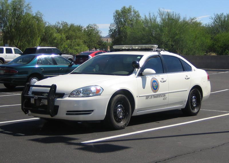 AZ Dept of Transportation Chevy Impala #AE67