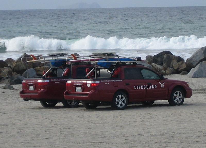 Coronado, CA Lifeguard Subaru