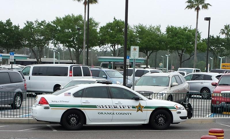 Orange County, FL Sheriff Chevy Impala