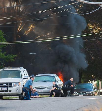 Gardner Shots Fired & Car Fires 071616