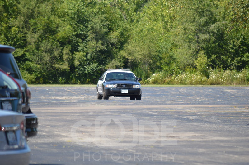 Wilmington Police Ford Crown Victoria.