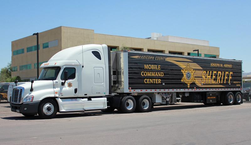 MCSO Mobile Command Center Freightliner #593765