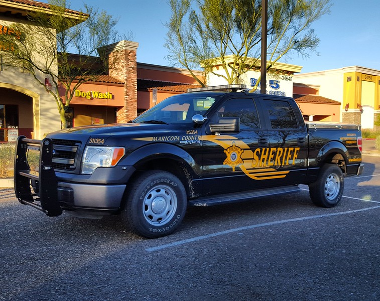 MCSO Ford F150 #311354 a