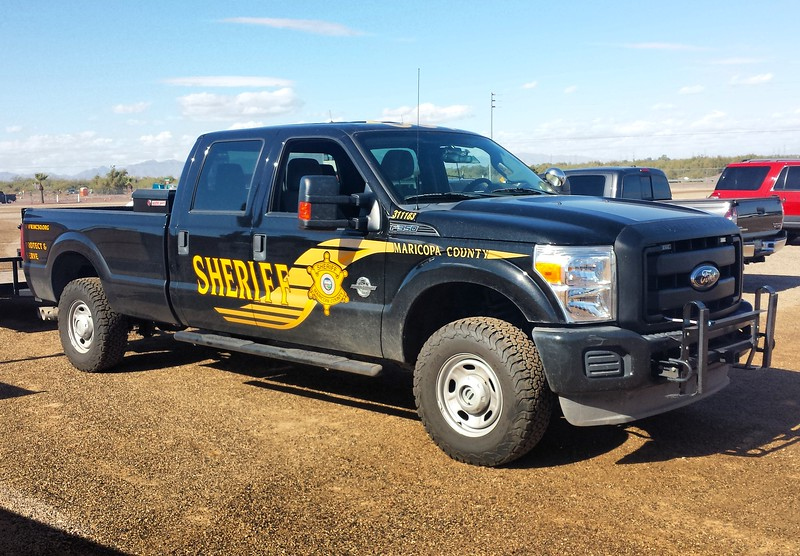MCSO Ford F350 #311183 (ps)