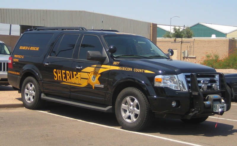 MCSO Search & Rescue 2008 Ford Expedition #31877 (ps)