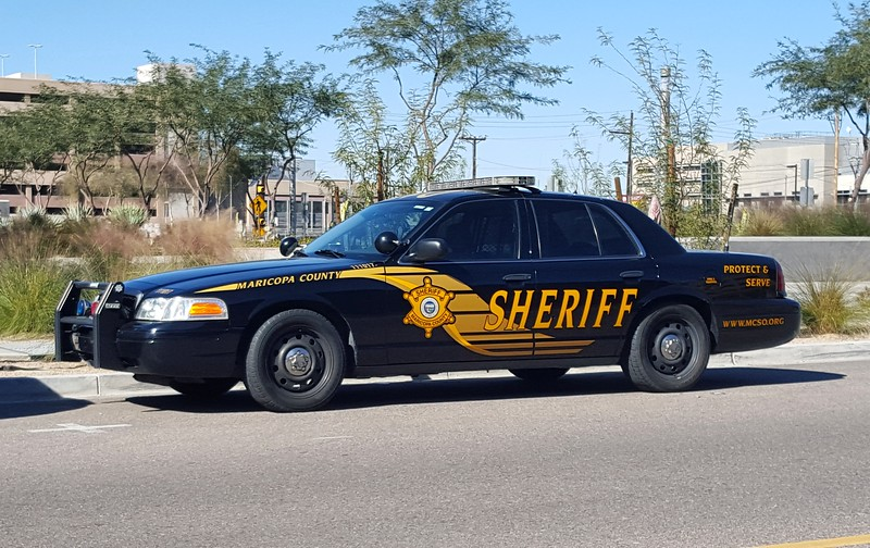 MCSO Ford Crown Victoria #111017