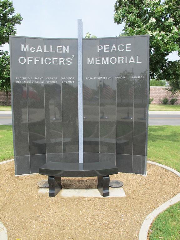 McAllen Peace Officers Memorial