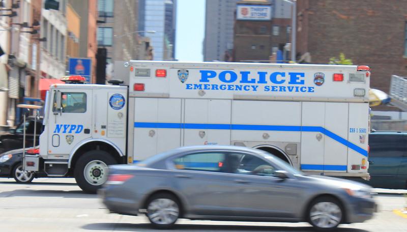 NYPD ESS1 Mack #5501