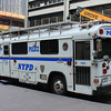 NYPD Command Post Blue Bird #4067 (ps)