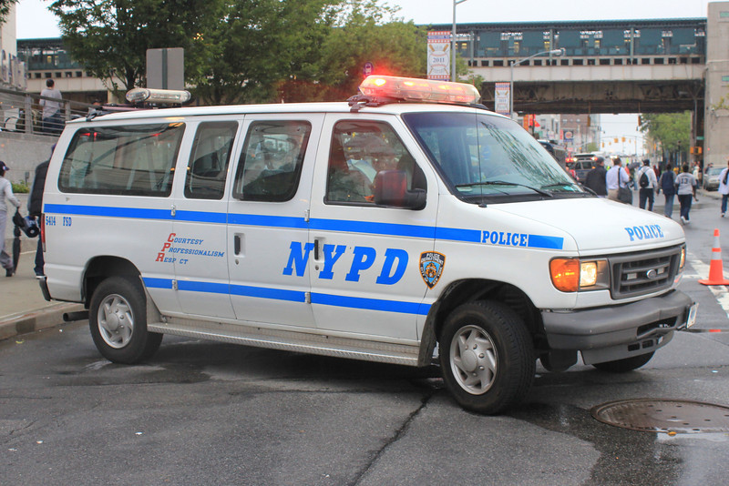 NYPD Ford Van #5414 (ps)