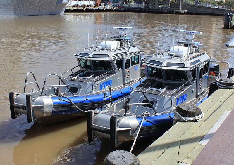 NYPD boats