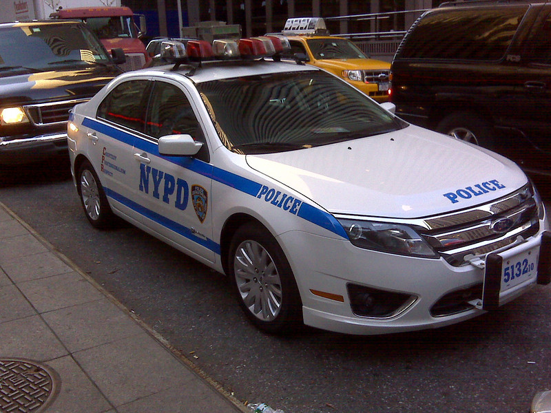 NYPD 2010 Ford Fusion #5132 (ps) - by Brian Radoian