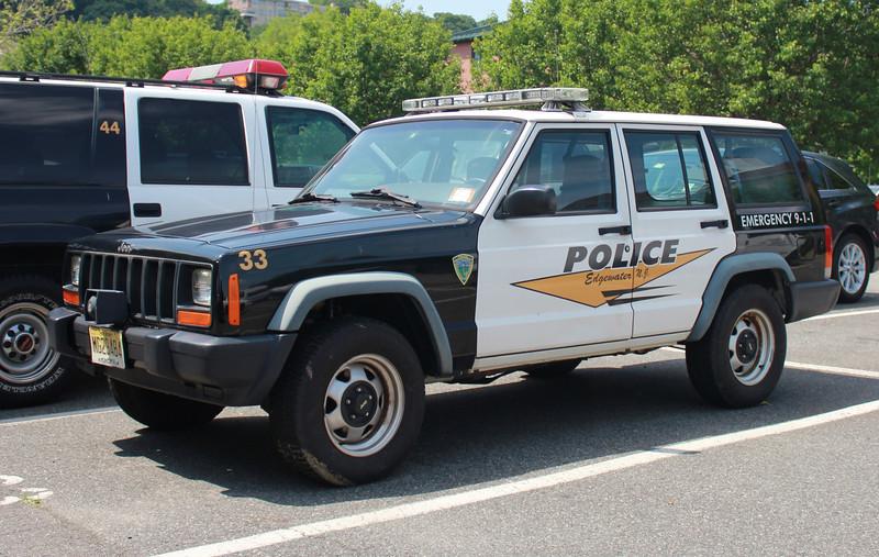 Edgewater, NJ PD 33 Jeep Cherokee