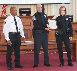 The Norristown Police Recognition Ceremony at Municipal Hall, Tuesday June 9, 2015.