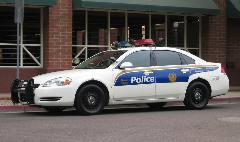 PHX 2008 Chevy Impala #811322 - license recognition unit