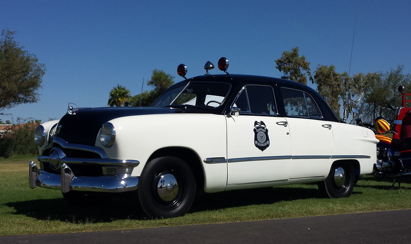 PHX PD Antique Ford