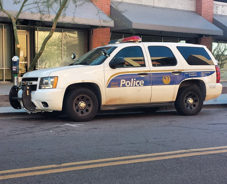 PHX PD 2007 Chevy Tahoe #711741