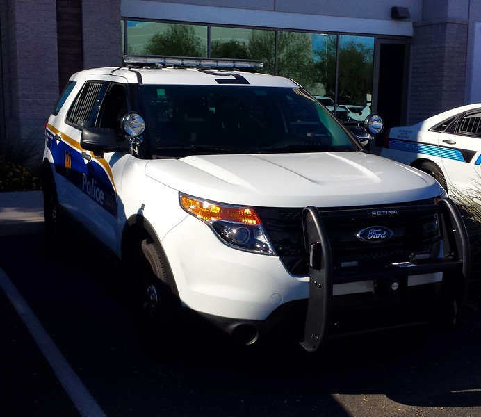 PHX PD 2015 Ford Utility Interceptor (front)